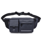 《TANGCOOL》多功能休閒腰包斜肩/跨胸包(906-藍色)