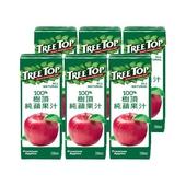 《樹頂》100%純蘋果汁(200mlx6包/組)
