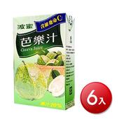 《波蜜》芭樂汁(300ml*6包/組)
