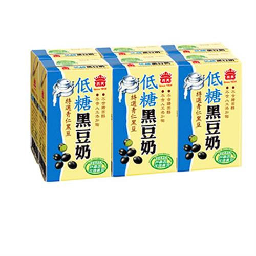 義美 低糖黑豆奶(250ml*6包/組)