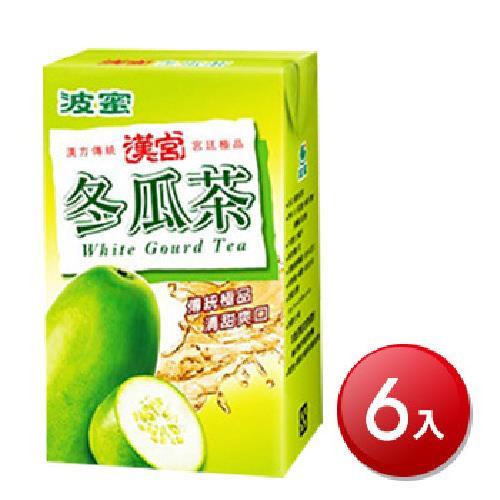 《波蜜》漢宮冬瓜茶(250ml*6包/組)