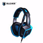 《Sades》Sades Luna 狼月 電競耳麥 7.1 (USB)(Sades Luna 狼月)
