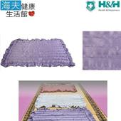 《海夫健康生活館》南良 H&H 台灣墨綠玉 元氣坐墊(53x37cm)(紅)