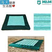 《海夫健康生活館》南良 H&H 台灣墨綠玉 禪坐墊(40x40x2.5cm)(綠)