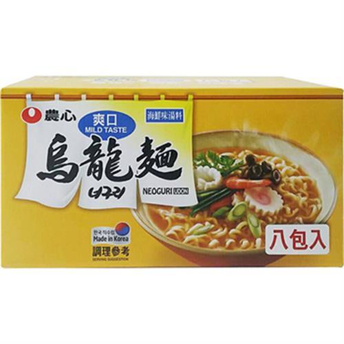 《農心》爽口海鮮烏龍麵(120g x 8包/盒)