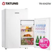 《TATUNG 大同》101公升單門冰箱(TR-101GTW)