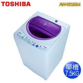 《TOSHIBA東芝》7.5公斤循環進氣高速風乾洗衣機-紫迷紅AW-B8091M(送基本安裝)