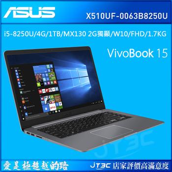 ASUS VivoBook 15 X510UF-0063B8250U 冰河灰 筆記型電腦(X510UF-0063B8250U)