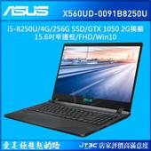 《ASUS》X560UD-0091B8250U 閃電藍 筆記型電腦(X560UD-0091B8250U)