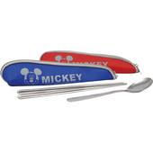 米奇樂活餐具組-顏色隨機出貨(52306)