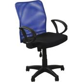 《新文登》網背椅-藍/黑(顏色隨機出貨')(52x53x86~98cm/P-H-CH999B/BK)