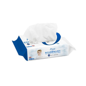 《普洛斯Prosi》寶寶用無添加純水濕紙巾(80抽/包)UUPON點數5倍送(即日起~2019-08-29)