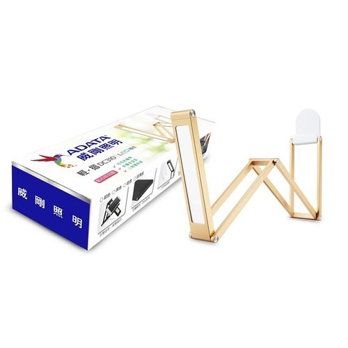 《威剛》輕摺LED檯燈AL-DKDC310-3W60-65RG(金色)