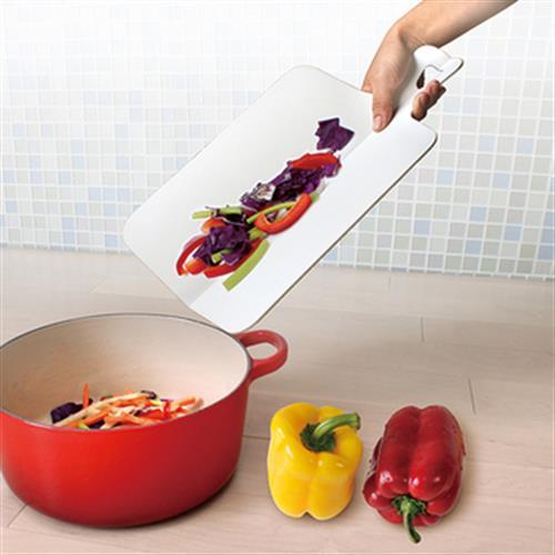 輕鬆放折疊防滑切菜板39.5X26X0.35cm(單手-顏色隨機出貨)
