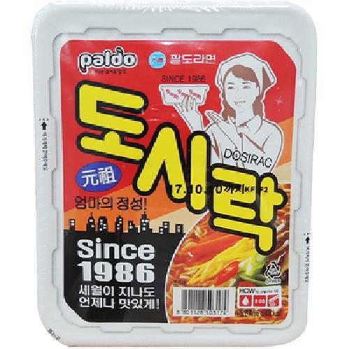《Paldo》便當盒湯麵-86g/盒(元祖)
