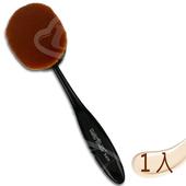 《Macrilan 瑪可麗蘭》時尚俏麗大型橢圓專業化妝刷具(B409)