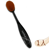 《Macrilan 瑪可麗蘭》時尚俏麗中型橢圓專業化妝刷具(B402)