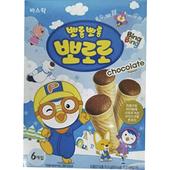 《啵樂樂》甜筒威化-巧克力風味(53.4g/盒)