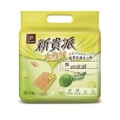 《新貴派》大格酥量販包-324g(陽光檸檬)