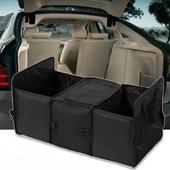 超大容量汽車後車箱分隔保溫收納箱收納袋