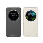《ASUS》Zenfone 3 Deluxe ZS550KL專用 5.5吋原廠透視皮套(原廠公司貨-盒裝)(黑色)