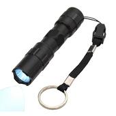 《月陽》PMMA鏡片3W爆亮鋁合金防水攻擊頭手電筒(LYD02)