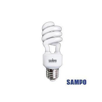 《聲寶》23W 電子式螺旋省電白光燈泡 3入裝