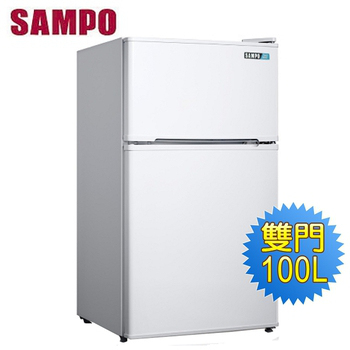 《SAMPO 聲寶》100公升雙門冰箱SR-A11G