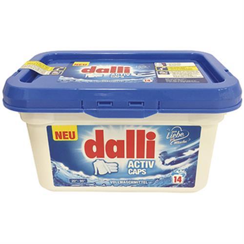《德國dalli》洗衣膠囊-14CAPS(強效型)