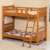 《Homelike》杉浦3尺雙層床架(不含床墊)