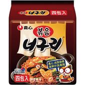 《農心》浣熊香辣海鮮炒烏龍麵(137g*4包)