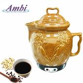 《Ambi恩比》全陶瓷中藥壺/藥膳壺PK-R401M(3.8L)