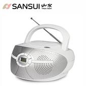 《SANSUI山水》CD/FM/AUX手提音響SB-D30