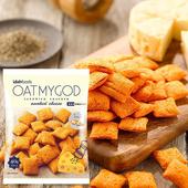 《歐麥格oatmygod》厚餡脆餅-40g/包(煙燻起司)