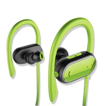 《SOYES》智能計步IPX4防汗防水運動藍牙耳機BT6(公司貨)(綠色)