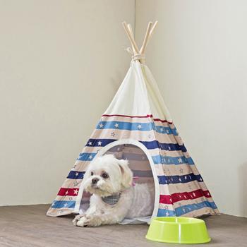 伊里斯 伊里斯俏皮印第安寵物帳篷(寵物帳篷)