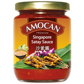 《AMOCAN》新加坡沙嗲醬(240g)