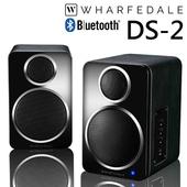 《Wharfedale》主動型喇叭 ✦ DS-2 藍芽 書架型 電腦喇叭 公司貨(黑)