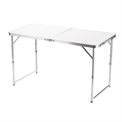 精實板鋁合金摺疊桌(120X60X40-70cm)