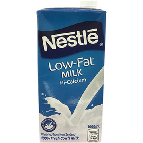 即期2018.11.11 雀巢 低脂保久乳(1公升/瓶)