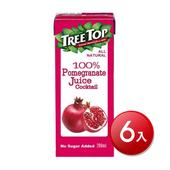 《樹頂》100%石榴莓綜合果汁(200mlx6包/組)