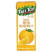 《樹頂》100%柳橙汁(200mlx6包/組)