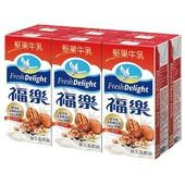 《福樂》堅果牛乳(200ml*6包/組)