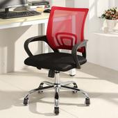 邏爵-多色行動力FX半網事務椅 辦公椅 電腦椅 書桌椅 多色【4005】紅 $998