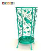 《DecoBox》舞藤土耳其藍圓形萬用傘桶(北歐工業風,傘架,紙簍,收納桶,花盆套,颱風,下雨)