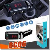 BC06車用藍芽FM發射器(黑色)