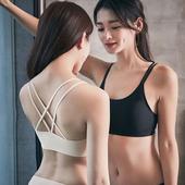 《Secret Garden》無痕透氣網孔雙線交叉無鋼圈內衣胸罩 SGMX09 (共三色)(F 黑色)