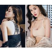 《Secret Garden》無痕透氣網孔蕾絲綉花美背無鋼圈內衣胸罩SGMX36(共三色)(F 黑色)