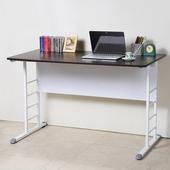 《Homelike》亞瑟120cm美型書桌(白腳)