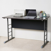 《Homelike》亞瑟120cm美型書桌(灰腳)